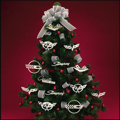 Corvette Christmas Ornament