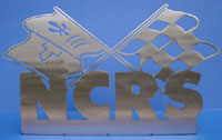 NCRS Logo Mounted Sculpture - Corvette
