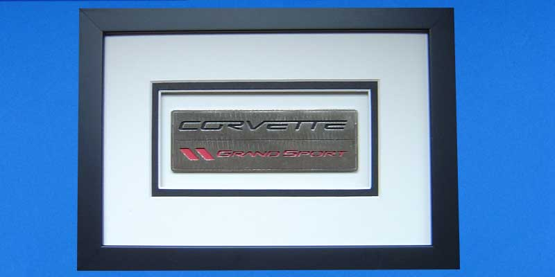 C6 Grand Sport Custom Shadowbox