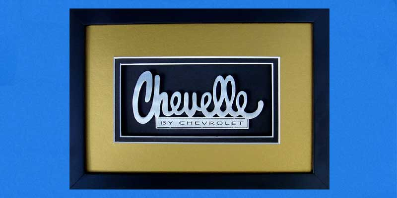 Chevelle Custom Shadowbox