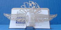 Indianapolis Motor Speedway Business Card Holder
