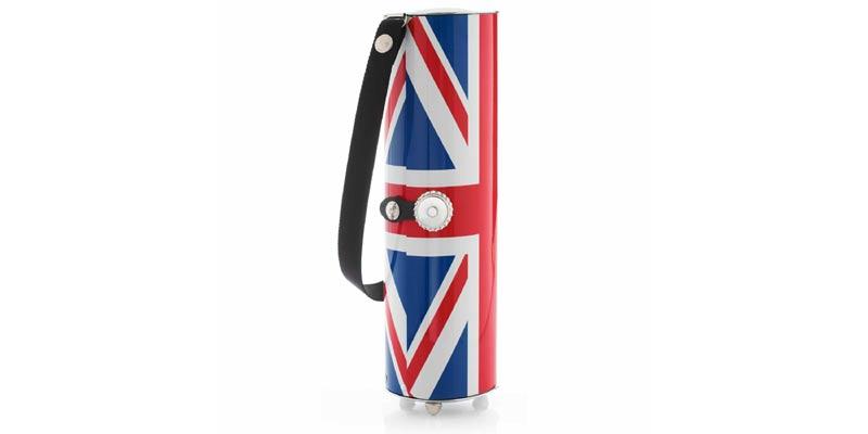 Union Jack Wine Holder - Wine Carrier